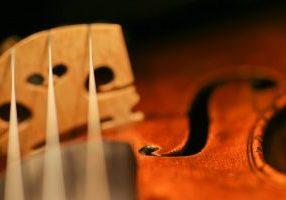 Fotografische Schwingungen - meine Geige
